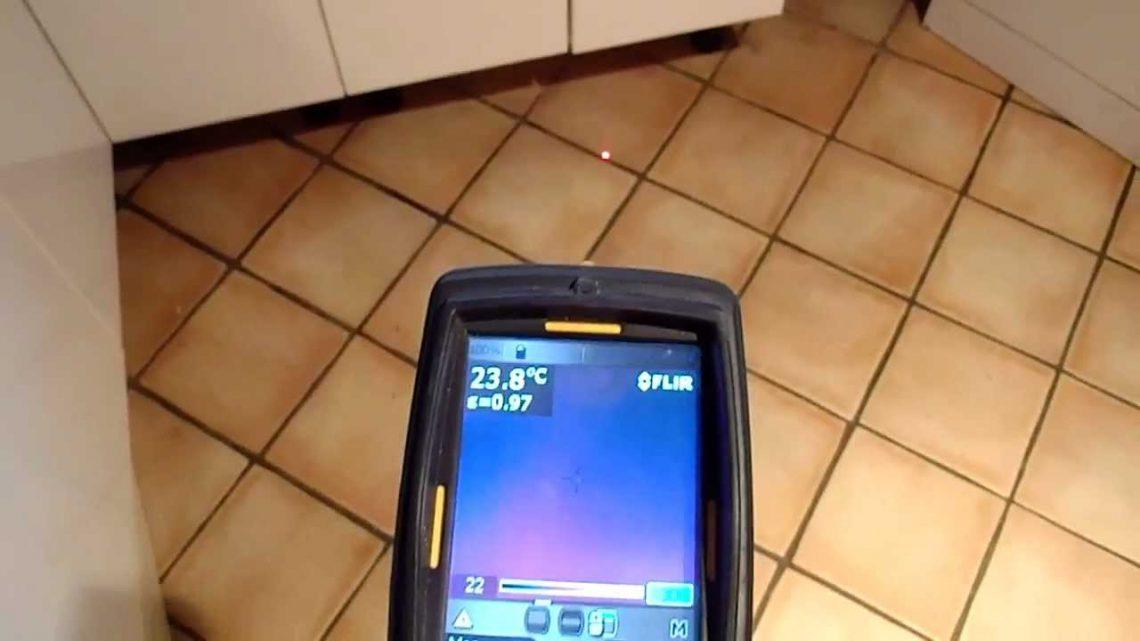 Prix recherche de fuite avec caméra thermique